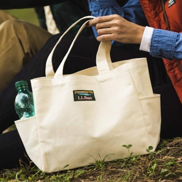 L.L.Bean(エルエルビーン)のL.L.Bean キャンバストートバッグ LEE付録 レディースのバッグ(トートバッグ)の商品写真