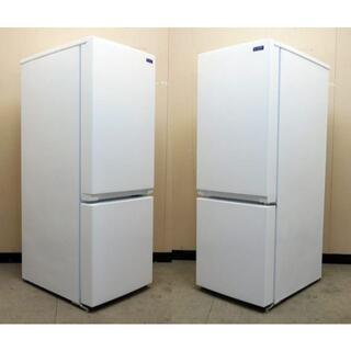 美品★19年製★YAMADA★2ドア冷蔵庫★156L(0R10957)(冷蔵庫)