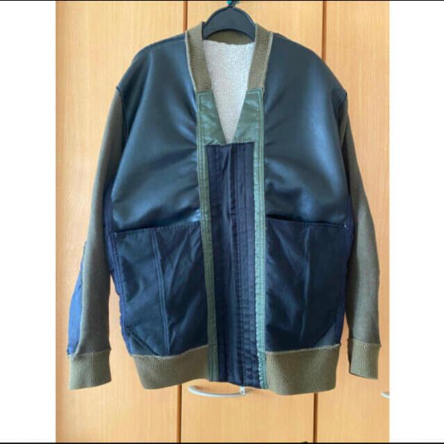 TOGA(トーガ)のTOGA VIRILIS 18AW ノーカラーボアジャケット メンズのジャケット/アウター(ブルゾン)の商品写真