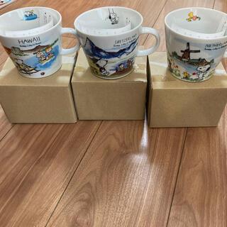 スヌーピー(SNOOPY)のスヌーピー 旅シリーズ マグカップセット(グラス/カップ)