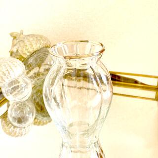 ザラホーム(ZARA HOME)のガラス フラワー ベース 新品未使用 H&M(食器)