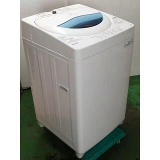 地域限定送料無料 東芝 5.0kg洗濯機 2017年製 2101151003(洗濯機)