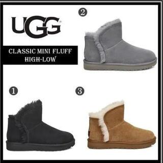 UGG - ≪新品同様≫UGG CLASSIC MINI FLUFF HIGH-LOW