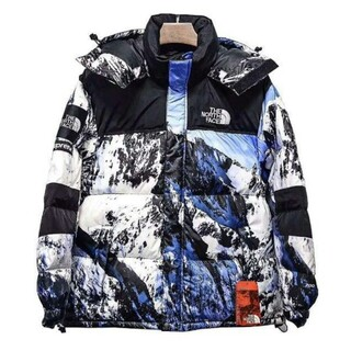 THE NORTH FACE - supreme × THE NORTH FACE 雪山 バルトロ Lサイズ