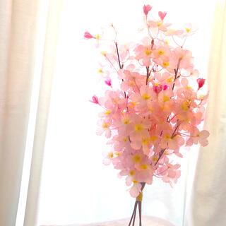 専用 限定1束 スワッグ 桜 造花 花束 ブーケ 46(その他)