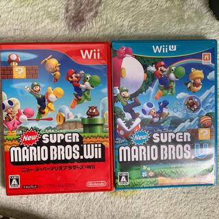 任天堂 - New スーパーマリオブラザーズ U Wii U & wii