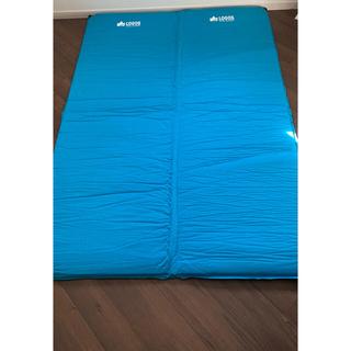 ロゴス(LOGOS)のLOGOS 超厚 セルフインフレートマット・DUO (寝袋/寝具)