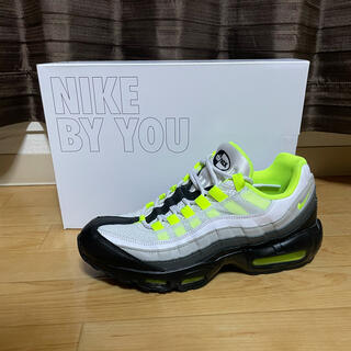 NIKE - airmax95 OG by you イエローグラデーションデザイン