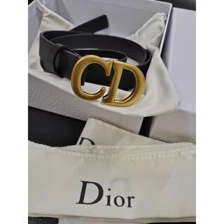 Dior - Dior サドル マットカーフスキン ベルト 85
