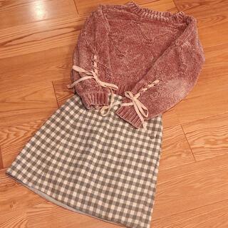F i.n.t - Majestic legon ♡ チェックの秋冬ミニスカート
