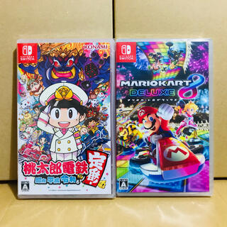 Nintendo Switch - 2台 ●桃太郎電鉄 ●マリオカート8  Switchソフト
