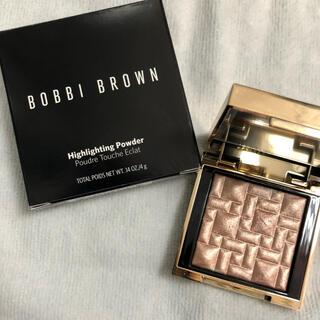 ボビイブラウン(BOBBI BROWN)のボビイブラウン ミニハイライティングパウダー L01ピンクグロウ(フェイスカラー)