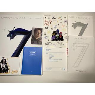 BTS MAP OF THE SOULE7 ver2 アルバム トレカ付き(K-POP/アジア)