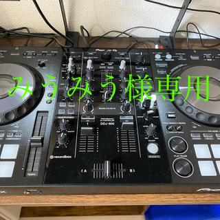 パイオニア(Pioneer)のみうみう様専用DDJ-800 美品 rekordbox ライセンス付き(DJコントローラー)