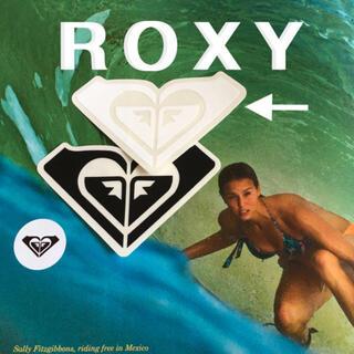 ロキシー(Roxy)のROXY ロキシー US限定 型抜き ICON ステッカー white(サーフィン)