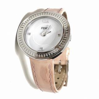 FENDI - フェンディ FENDI マイウェイ ファー付き 3Pダイヤ レディース腕時計