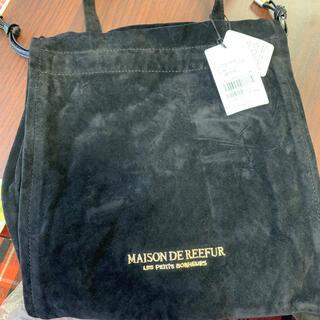 メゾンドリーファー(Maison de Reefur)のMAISON DE REEFUR ベロア生地巾着 新品(ハンドバッグ)