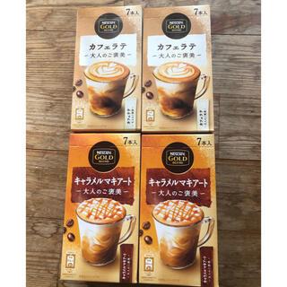 Nestle - ネスカフェ ゴールドブレンド キャラメルマキアート・カフェラテ