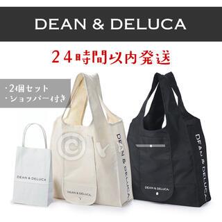 DEAN & DELUCA - DEAN&DELUCA ディーンアンドデルーカ ショッピング エコバッグ 2個