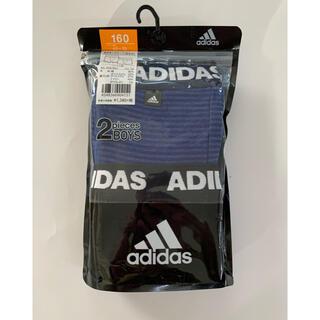 adidas - adidas 子供ボクサーブリーフ  160 2枚組1セット