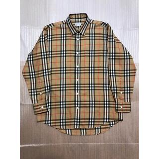 BURBERRY - Burberrys シャドーホースベージュチェックシャツ