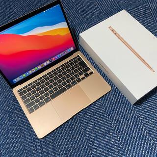マック(Mac (Apple))のApple MacBook Air M1/256GB/ゴールド (ノートPC)