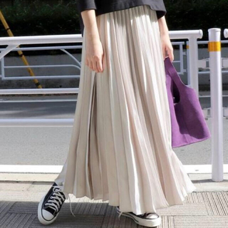 IENA SLOBE - SLOBE IENA ロングプリーツスカート【美品】