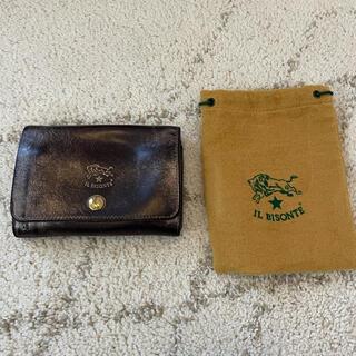 イルビゾンテ(IL BISONTE)のイルビゾンテ ブロンズ サイフ 財布 二つ折り ウォレット(財布)