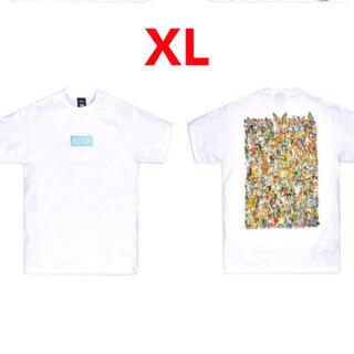 シンプソン(SIMPSON)のKith for The Simpsons 2021 XLサイズ(Tシャツ/カットソー(半袖/袖なし))