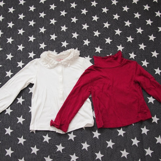 Shirley Temple(シャーリーテンプル)のシャーリーテンプル110 トップス2点 キッズ/ベビー/マタニティのキッズ服女の子用(90cm~)(Tシャツ/カットソー)の商品写真