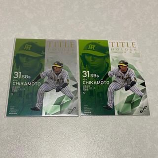 ハンシンタイガース(阪神タイガース)の20BBM 近本光司 阪神 150枚限定パラレルカード2枚セット(シングルカード)