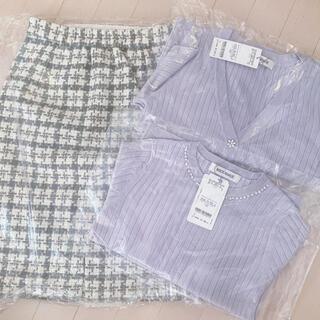 MISCH MASCH - ミッシュマッシュ♡福袋まとめ売り♡アンサンブル&ツイードスカート新品