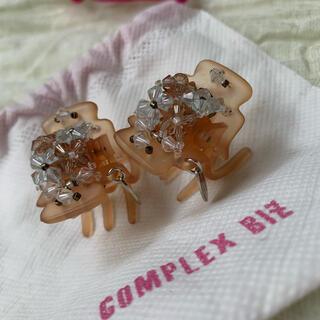 コンプレックスビズ(Complex Biz)のCOMPLEX BIZ コンプレックス ビズ ミニクリップ バナナクリップ(バレッタ/ヘアクリップ)