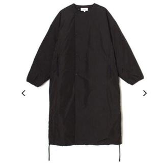HYKE - HYKE COLLARLESS COAT 17271 BLACK