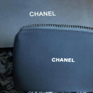 シャネル(CHANEL)の【新品 未使用 箱付】CHANEL シャネル ポーチ 黒 非売品(ポーチ)