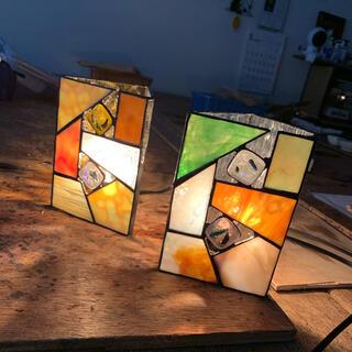 アクタス(ACTUS)のランプ ステンドグラス(テーブルスタンド)