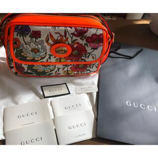 Gucci - 新品未使用❗️ グッチ GUCCI  フローラ ショルダーバッグ
