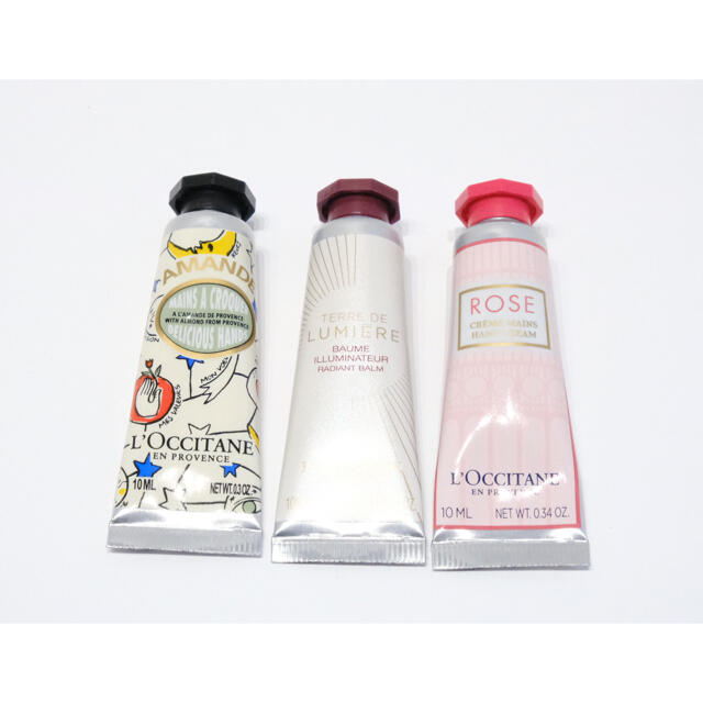 L'OCCITANE(ロクシタン)のL'OCCITANE ハンドクリーム 10ml×6本セット コスメ/美容のボディケア(ハンドクリーム)の商品写真