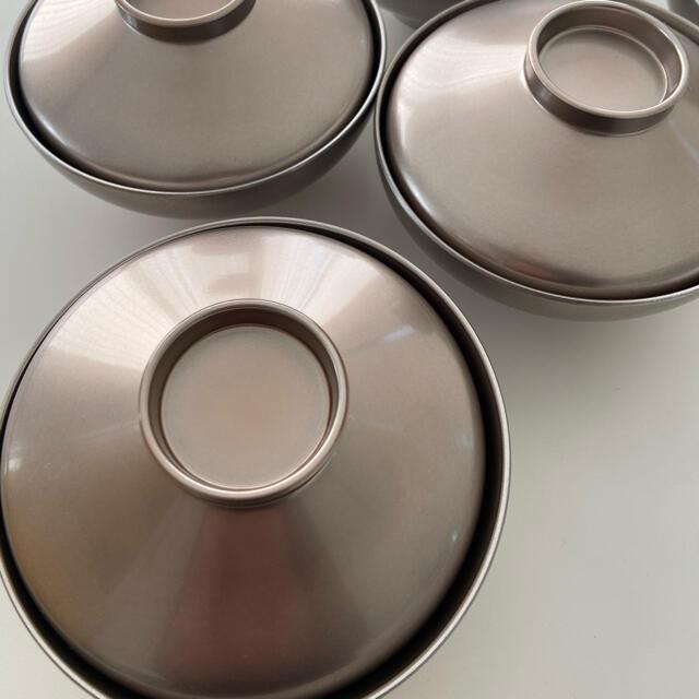 ACTUS(アクタス)の腕5個スクエア皿6枚セット インテリア/住まい/日用品のキッチン/食器(食器)の商品写真