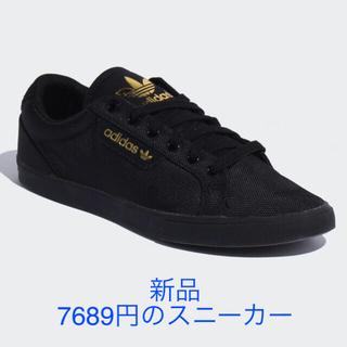 adidas - 新品*adidasスニーカー*23.5㎝*アディダス*黒