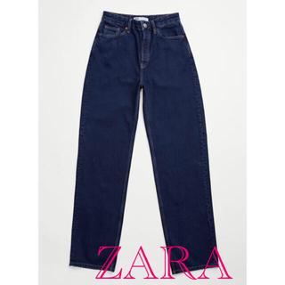 ZARA - ザラ ZARA 5990円 ハイライズバギーフィットデニムパンツ ジーンズ