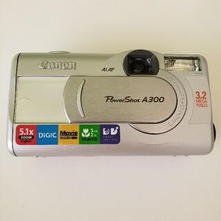 デジタルカメラCanon powershot A300(コンパクトデジタルカメラ)