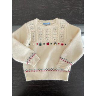 familiar - familiar◆ニット セーター 100