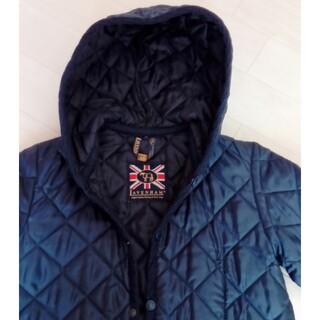 LAVENHAM - ラベンハム フード付きキルティングジャケット
