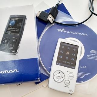 ウォークマン(WALKMAN)のSONY ウォークマン NW-A806 ホワイト 4GB 【動作確認済】(ポータブルプレーヤー)