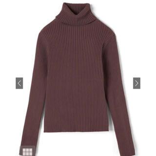 GRL - グレイル リブタートルネックセーター