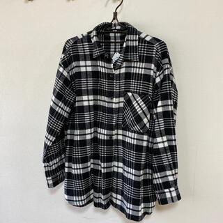 RODEO CROWNS - ロデオクラウンズ RCWB ネルシャツ フリーサイズ