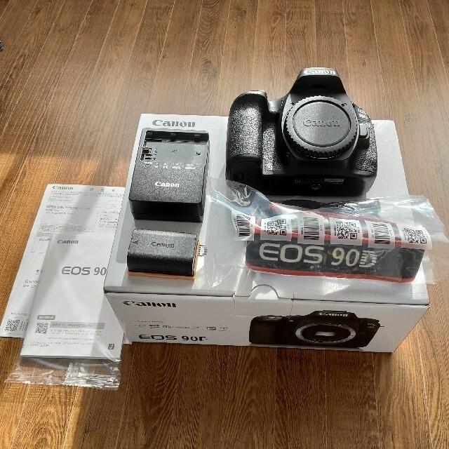 Canon(キヤノン)のCanon EOS90D ボディ スマホ/家電/カメラのカメラ(デジタル一眼)の商品写真