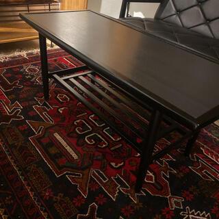 カリモクカグ(カリモク家具)のカリモク リビングテーブル マットブラック 日本製センターテーブル カリモク60(ローテーブル)