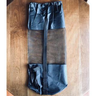 ヨガマットカバー マット用ゴムバンド付き ブラック (ヨガ)